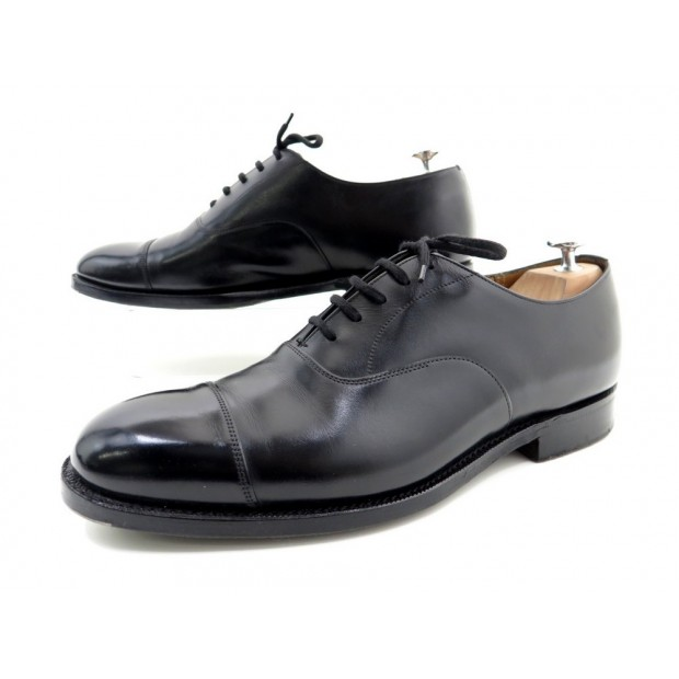 CHAUSSURES CHURCH'S CONSUL 7.5F 41.5 RICHELIEU EN CUIR NOIR LEATHER SHOES 590€