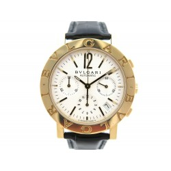 NEUF MONTRE BULGARI BB38GLCH 38 MM AUTOMATIQUE CHRONOGRAPHE OR 18K WATCH 15950€