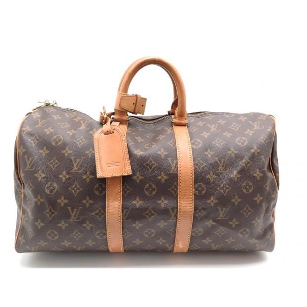 aperçu de Beau design design professionnel sac de voyage a main louis vuitton m41428 keepall 45