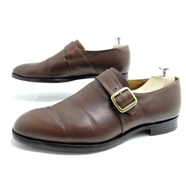 CHAUSSURES CHURCH'S WESTBURRY SOULIERS A BOUCLE 11G 45 LARGE CUIR SHOES 660€