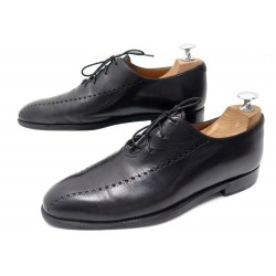 CHAUSSURES BERLUTI ALESSANDRO PERFORATION RICHELIEU 6.5 40.5 CUIR SHOES 1580€