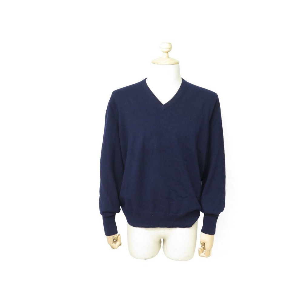 100% top quality utterly stylish performance sportswear pull eric bompard col v classique en cachemire xl