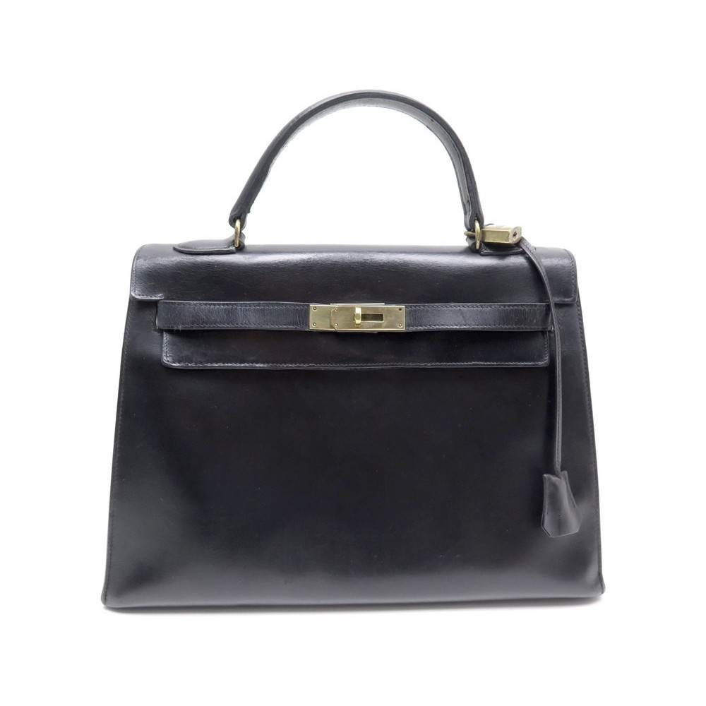 3ad1fba65e2a sac a main hermes kelly 33 sellier en cuir box