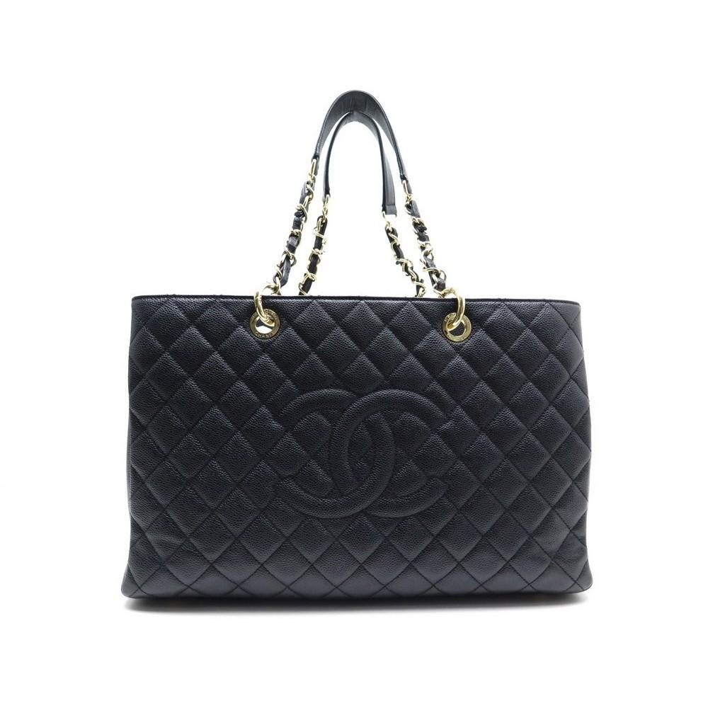 601752f185 sac a main chanel shopping gst gm en cuir caviar