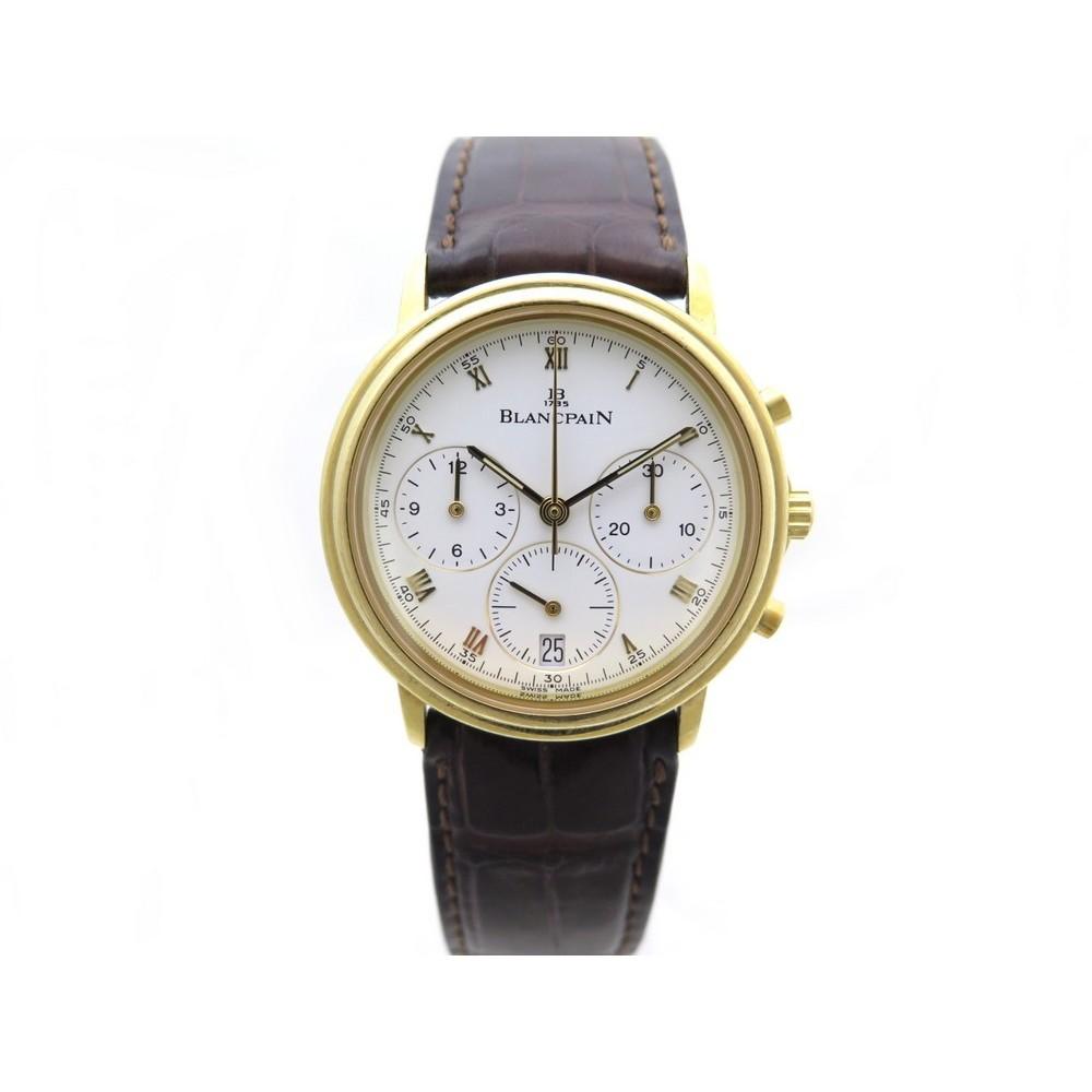Montre Blancpain Villeret Chronographe 34mm 1185141858 AL3qRj54