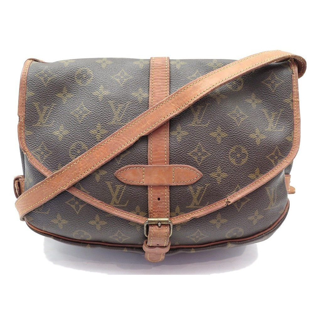 VINTAGE SAC A MAIN LOUIS VUITTON SAUMUR MM BESACE MONOGRAM LV HAND BAG  1020€. Loading zoom 638e8ae4edc
