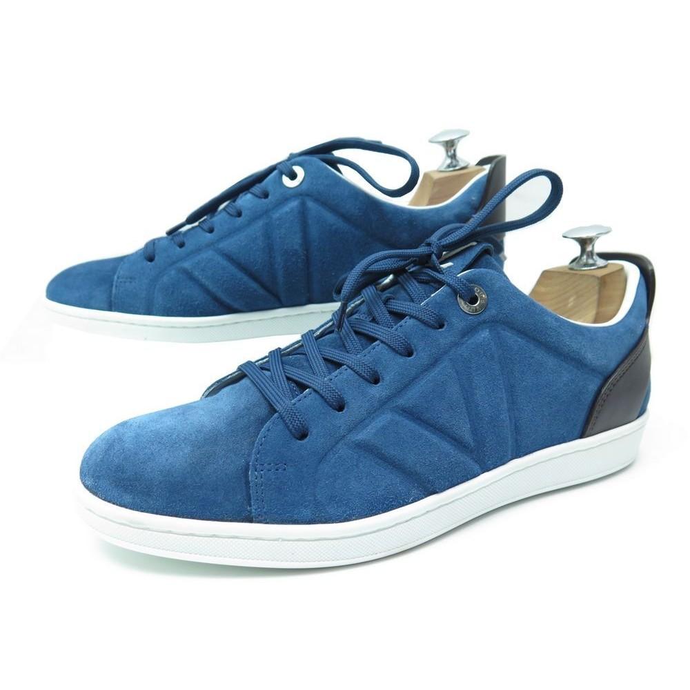 blue louis vuitton shoes