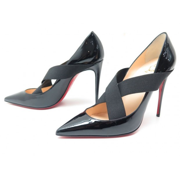 tout neuf 09f2b 653cb chaussures christian louboutin 38.5 cuir verni