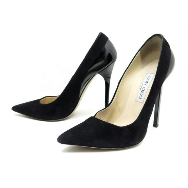 la moitié 8c976 8aa92 chaussures jimmy choo 146kayomi 38.5 escarpins en