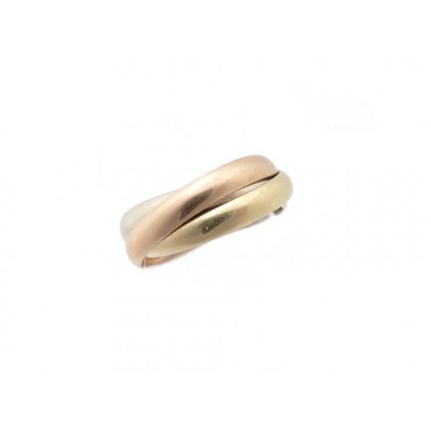 BAGUE LES MUST DE CARTIER TRINITY PM 3 ORS T 56 3MM 8.2 GR GOLD RING 940€