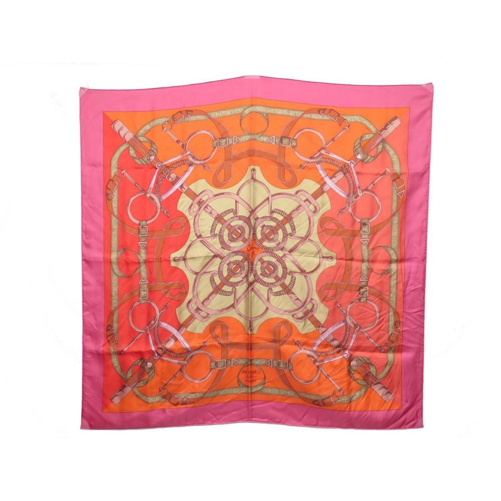 a3f159cd48a0 foulard hermes eperon d or carre henri d origny soie