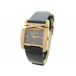 NEUF MONTRE CHAUMET W15830-22Q LIENS EN OR ROSE 18K PAVAGE DIAMANTS WATCH 10500€