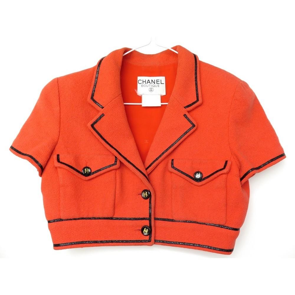 Veste corail orange