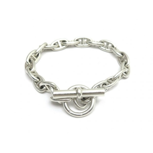 164215993e4 bracelet hermes chaine d ancre mm 21 liens t 20 cm