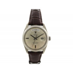 MONTRE ROLEX 1803 OYSTER PERPETUAL DAY DATE 36MM AUTOMATIQUE OR 18K WATCH 21650€