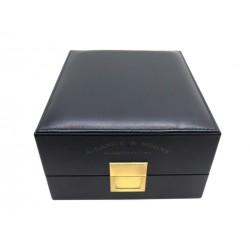 BOITE POUR MONTRE A. LANGE & SOHNE CUIR BLEU MARINE BLUE LEATHER BOX FOR WATCH