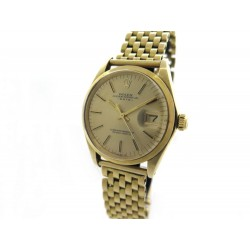 MONTRE ROLEX 1500 OYSTER PERPETUAL DATE OR JAUNE 18K 34 MM AUTOMATIQUE 17900€