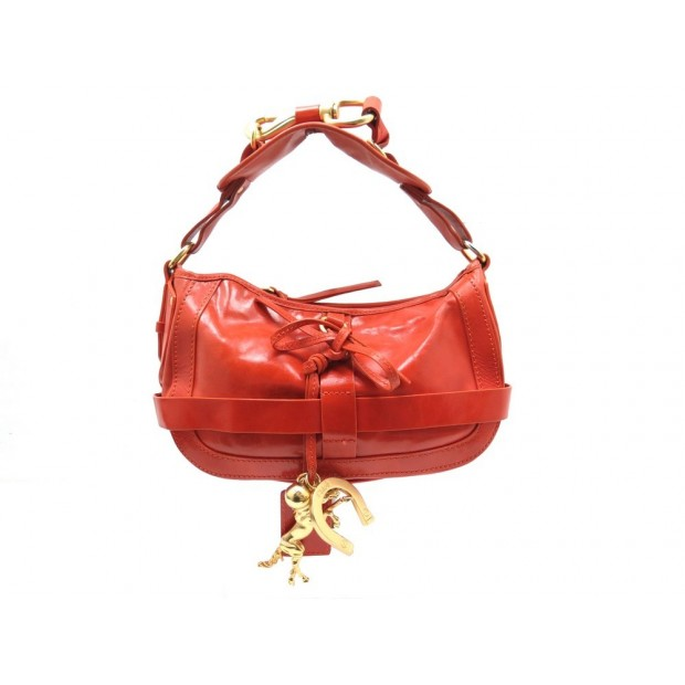 d48f47e1ab sac a main chloe kerala 27 cm en cuir orange attributs