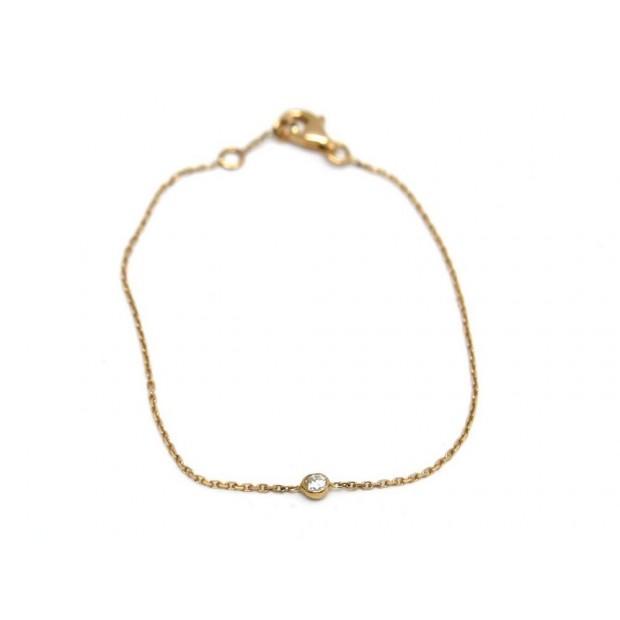 NEUF BRACELET DIAMANTISSIMO PUCE 14613 T15 EN OR ROSE ET DIAMANTS PINK GOLD 525€
