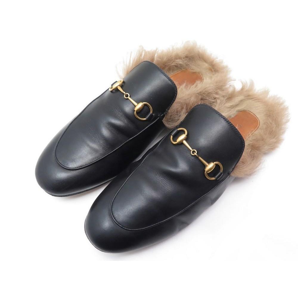 Couleurs variées Prix de gros 2019 prix attractif chaussures gucci mules princetown mors 40 fourrees