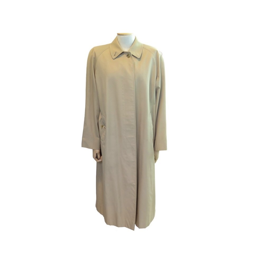 01472b13cba MANTEAU IMPERMABLE BURBERRY S TAILLE 40 FEMME TRENCH BEIGE RAINCOAT 1500€.  Loading zoom