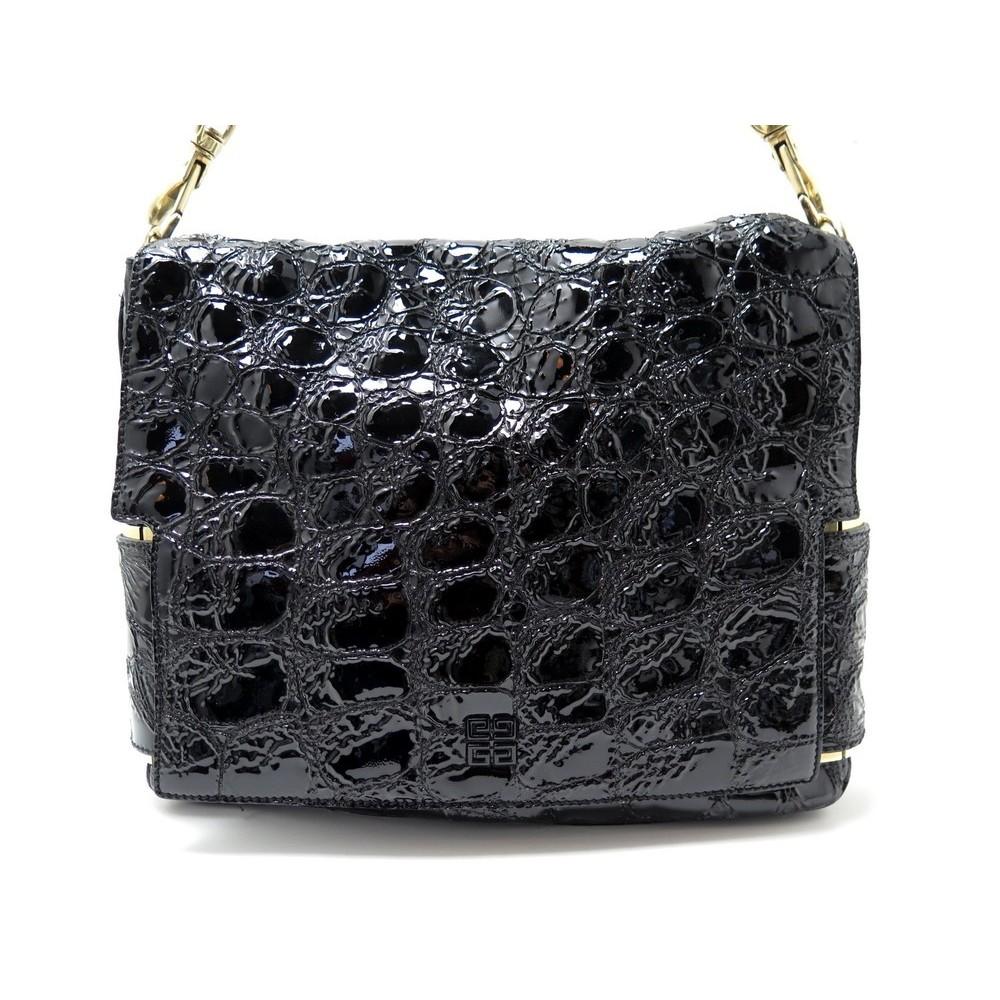 Sac Givenchy Noir A Main Melancholia Cuir Large 8nN0PXwOk