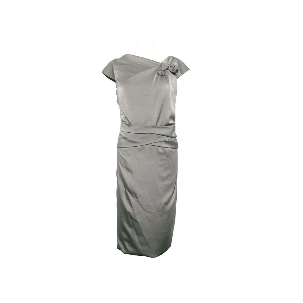 891880b783d ROBE VALENTINO DE SOIREE TAILLE 44 ITALIEN 40 FRANCAIS GRIS GREY DRESS  3500€. Loading zoom