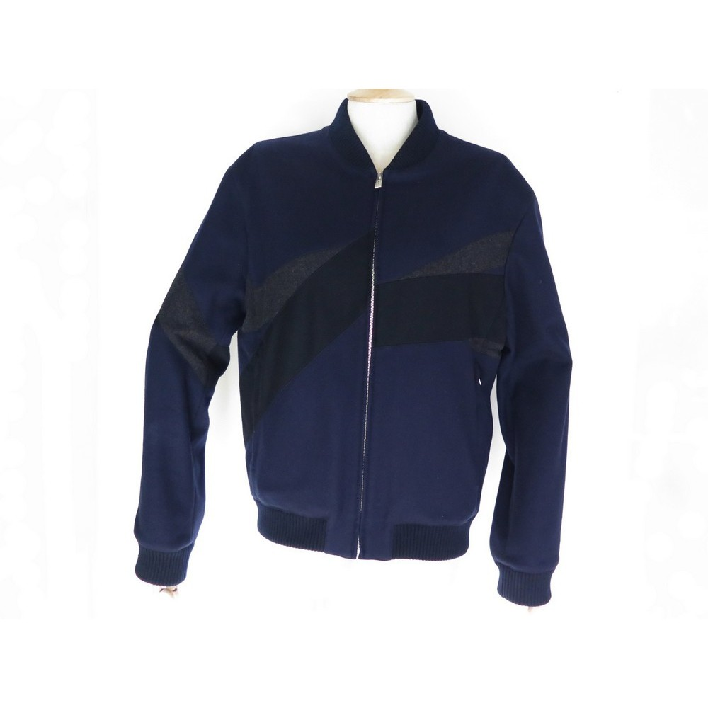 Laine 48 Jockey Blouson Bleu Homme Hermes Veste M LMzVqUGSp