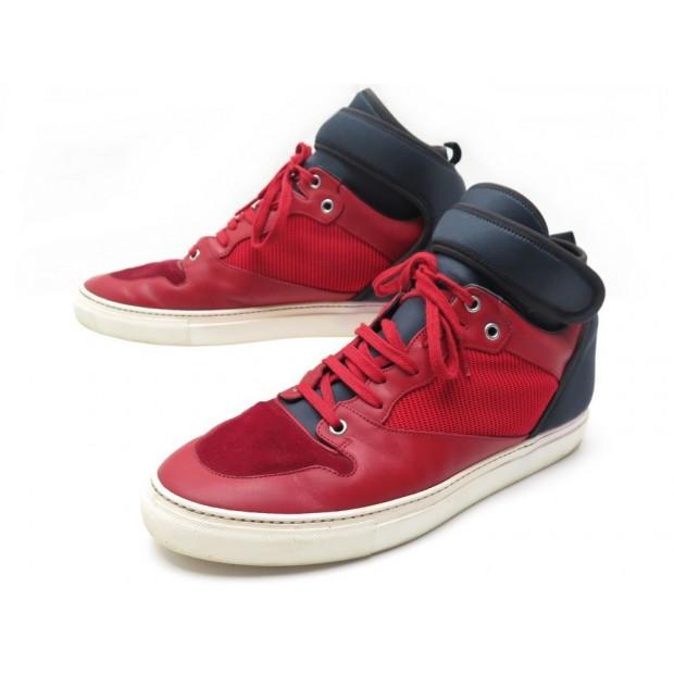 bas prix 9a1cf 9476b chaussures balenciaga baskets neoprene 391216 43 cuir