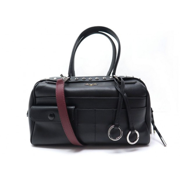 NEUF SAC A MAIN ZADIG & VOLTAIRE SMALL TWISTER WFAV2027F BANDOULIERE CUIR 595€