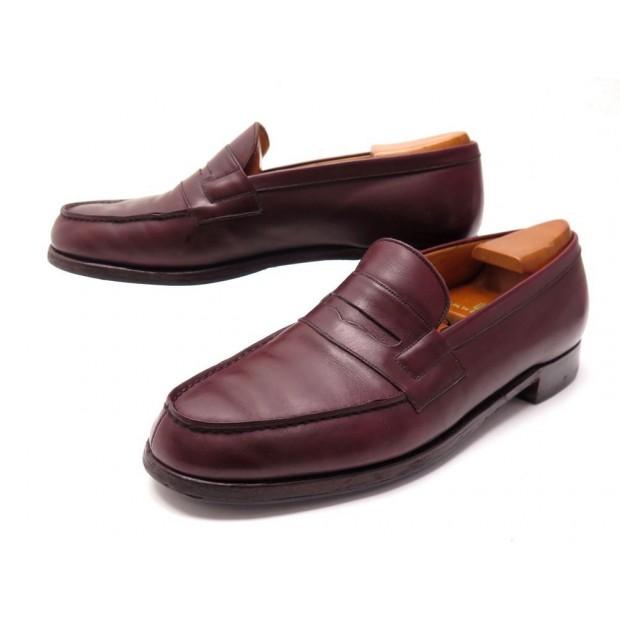 acheter en ligne 3a1b9 d4601 chaussures jm weston 180 8b 41.5 42 mocassins bordeaux