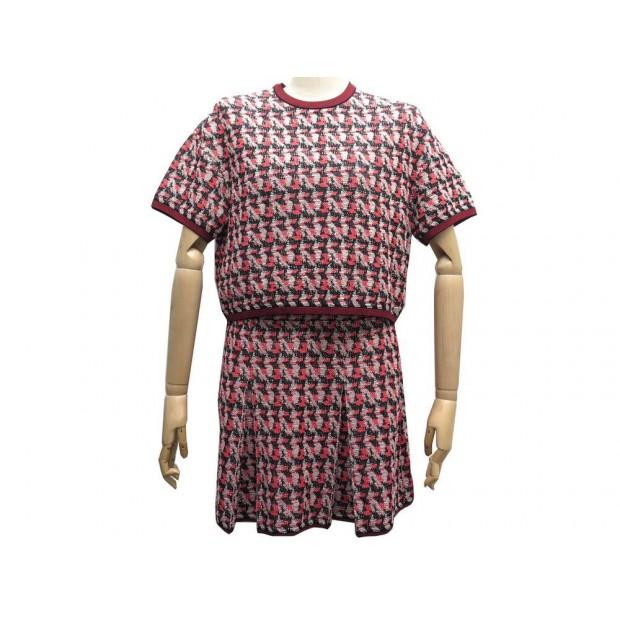 factory outlets wide varieties hot sale ensemble jupe haut pull chanel p54045 p54046 36