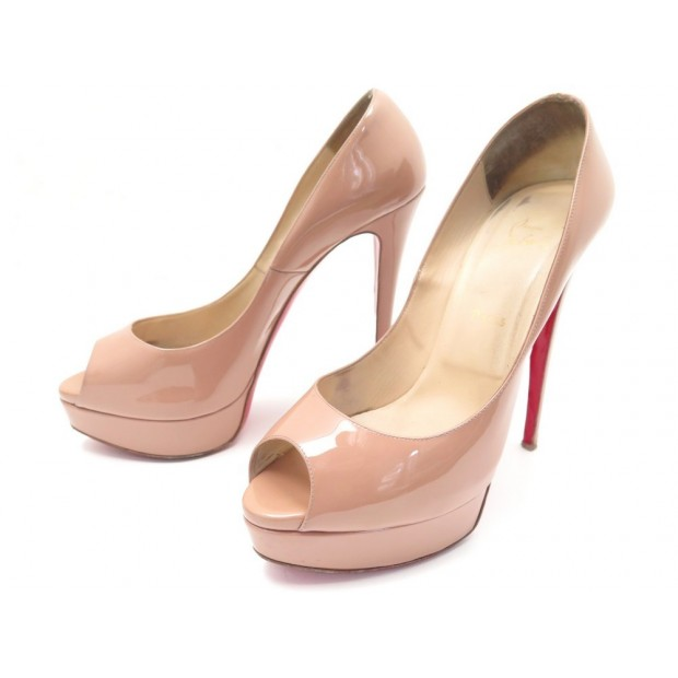 site réputé 3510e 80897 chaussures christian louboutin lady peep escarpins 42