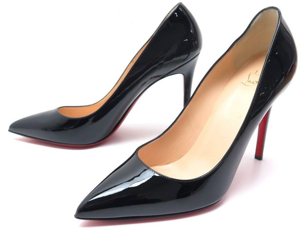 détaillant en ligne 06140 b42be chaussures christian louboutin pigalle vernis 100