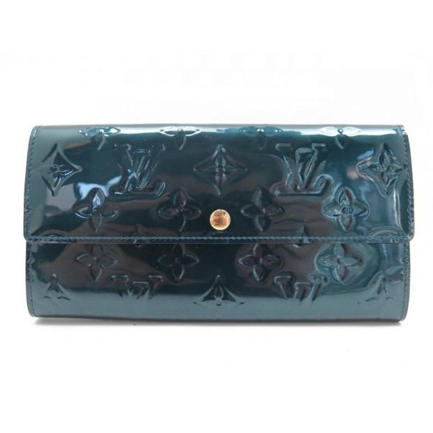 546e7c4878 portefeuille louis vuitton sarah cuir vernis
