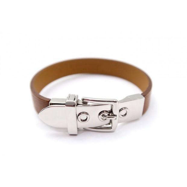 bracelet hermes ceinture xs en cuir et acier b3719576ee3