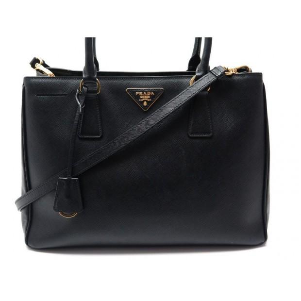 great fit best sale buy online sac a main prada galleria 1ba874 cuir saffiano noir