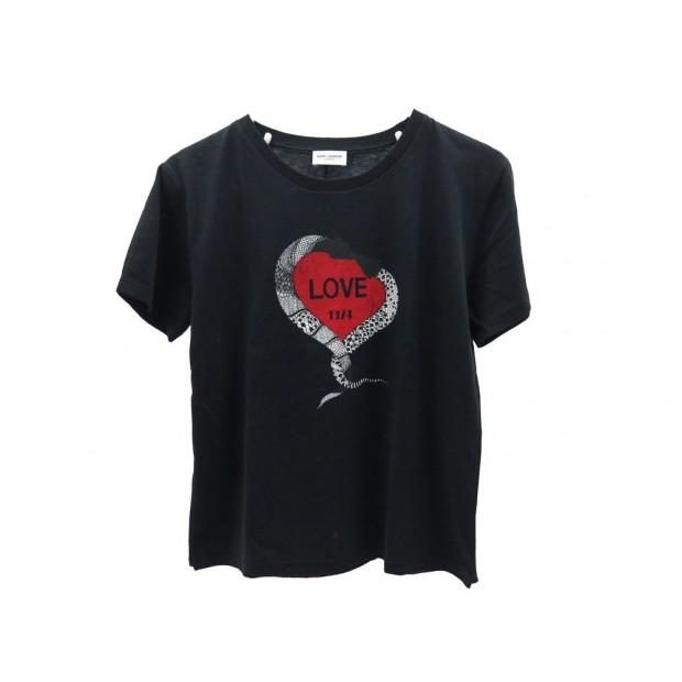 t shirt saint laurent noir