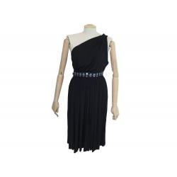 ROBE DOLCE & GABBANA SANS MANCHES 40 IT 36 FR S POLYESTER NOIR BLACK DRESS 995€