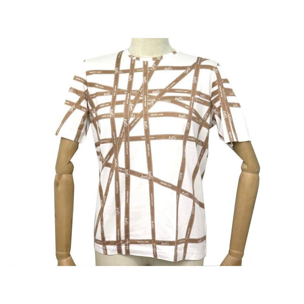 666b32f1 t shirt manches courtes hermes bolduc 40 m en