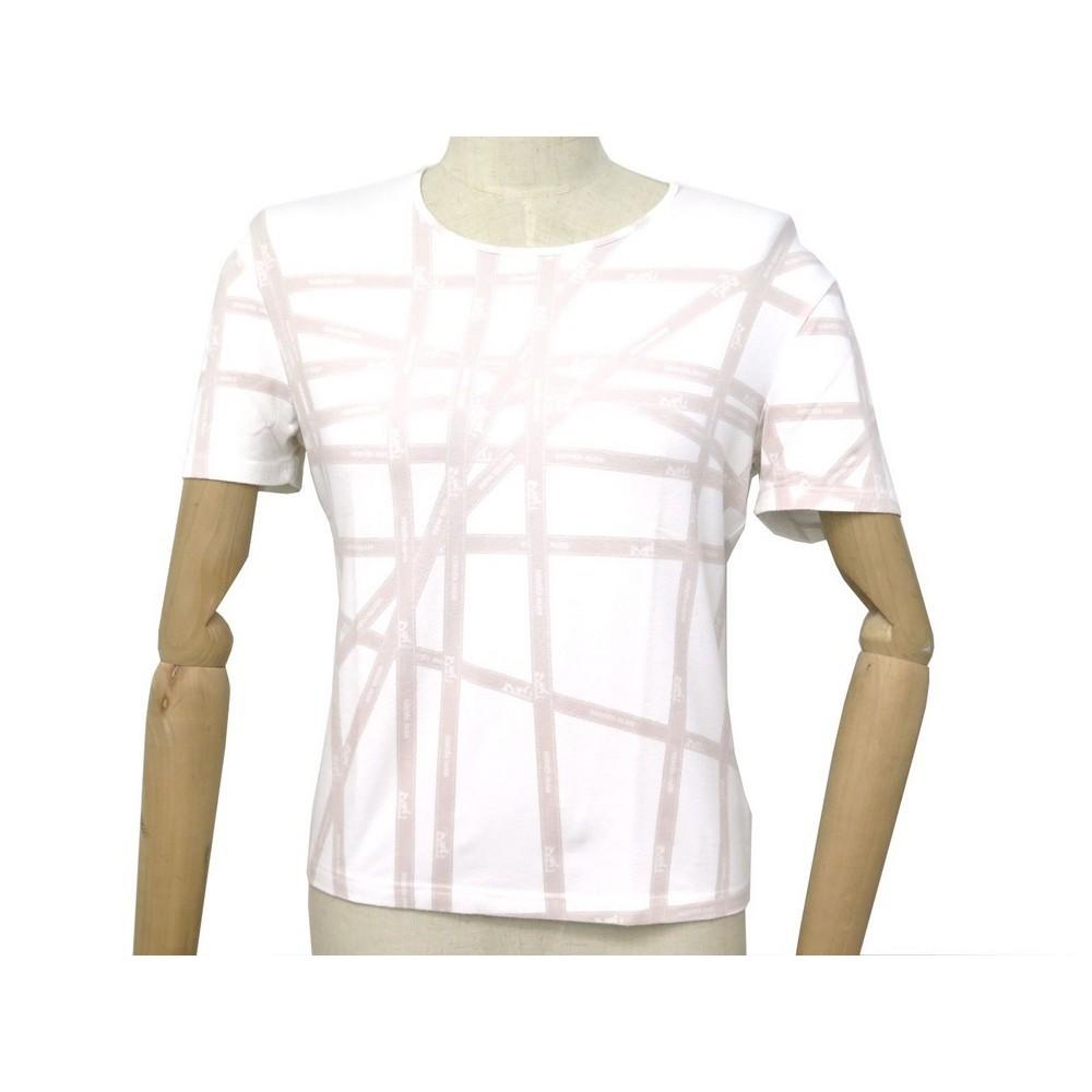 26715bbc t shirt manches courtes hermes bolduc l 42 en viscose