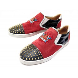 CHAUSSURES CHRISTIAN LOUBOUTIN NASA DAD & MOM CLOUTE 44.5 STUDDED SHOES