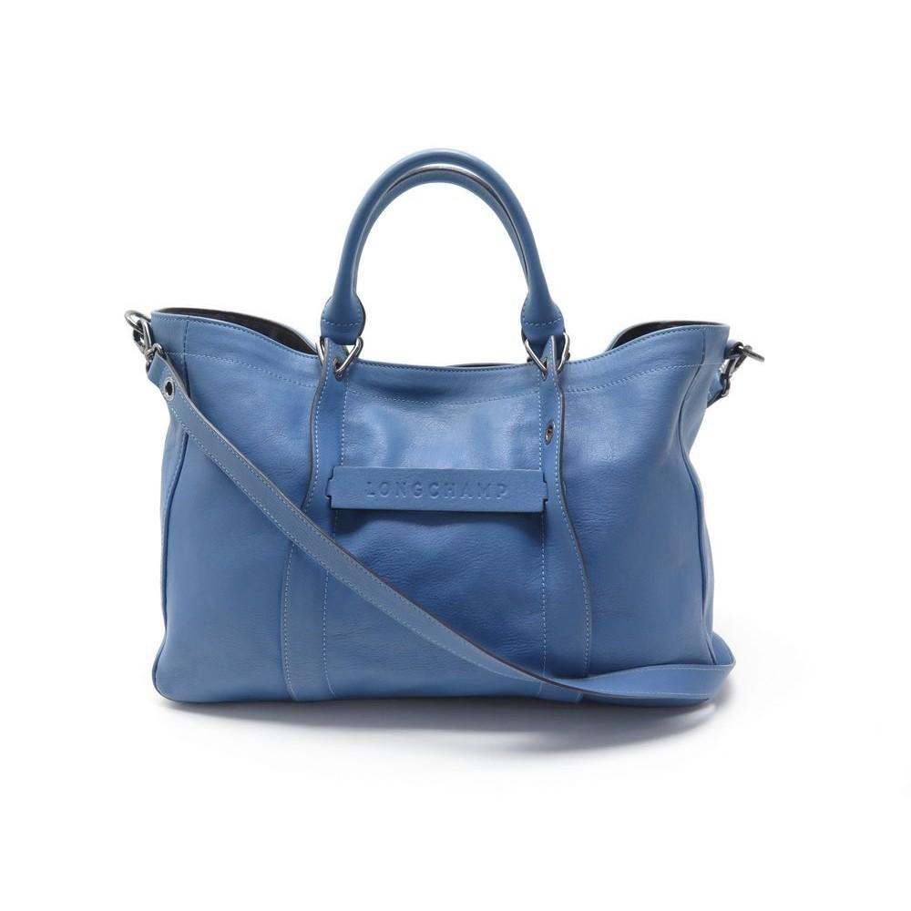 sac a main longchamp 3d m l1285770564 en cuir bleu