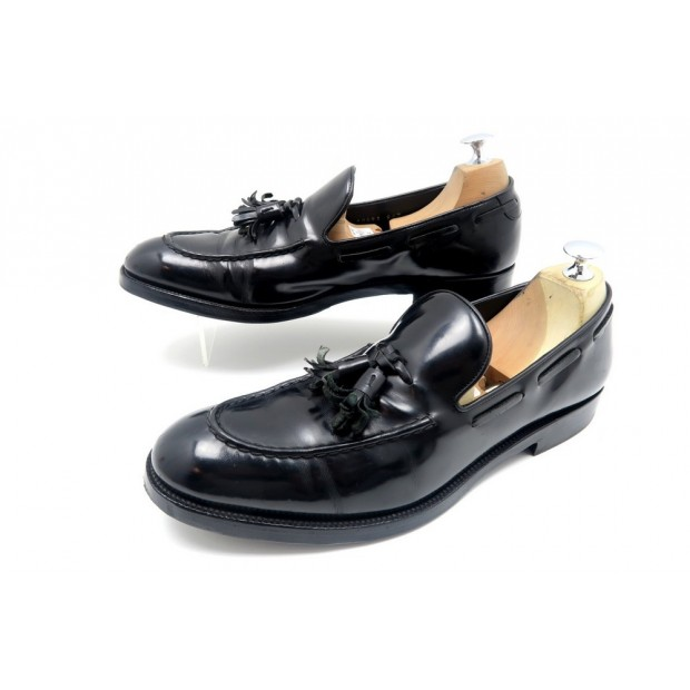 CHAUSSURES FRATELLI ROSSETTI BRERA 9 IT 43.5 MOCASSINS EN CUIR VERNI SHOES 460€