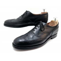 CHAUSSURES CHURCH'S CHETWIND RICHELIEU 9F 43 CUIR NOIR OXFORD BLACK SHOES 620€