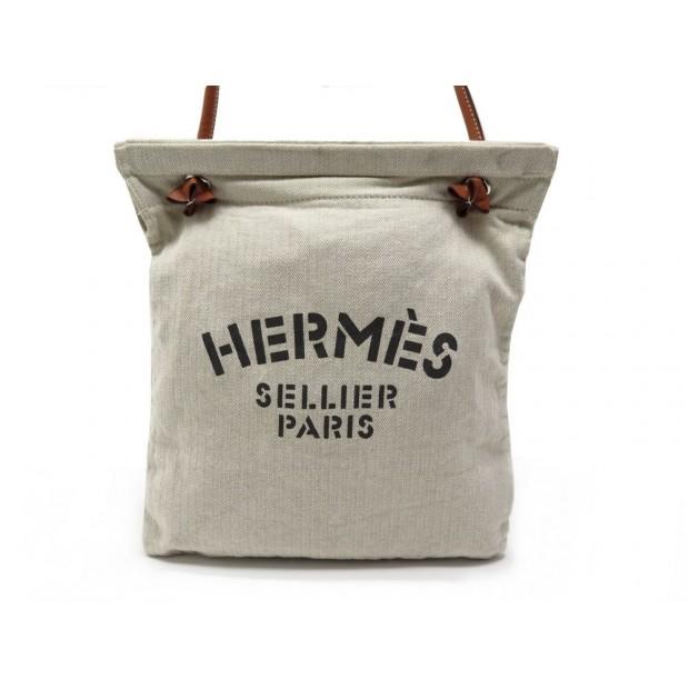 55da6df70acb sac a main hermes sellier aline ii pm en toile chevron