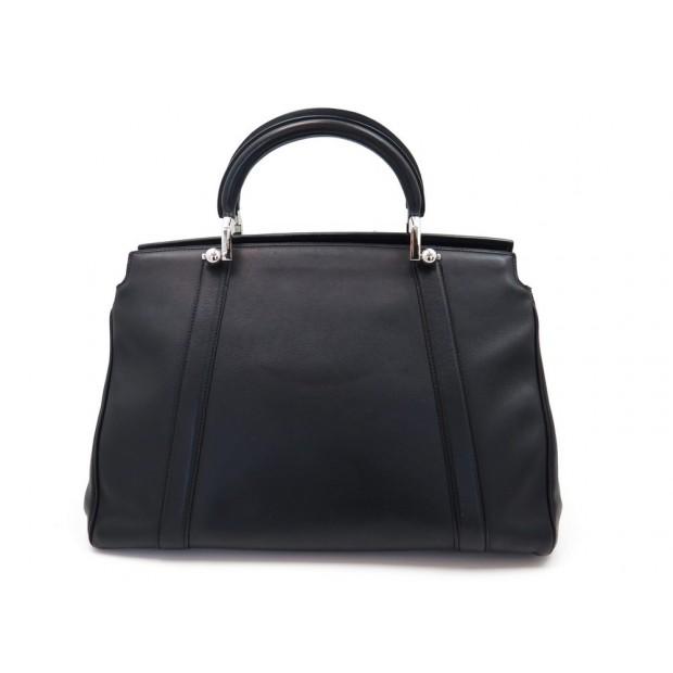SAC A MAIN MOYNAT BALLERINE GM EN CUIR NOIR BLACK LEATHER HAND BAG PURSE 4200€