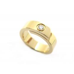 NEUF BAGUE CARTIER LOVE DIAMANT SOLITAIRE T49 OR JAUNE & DIAMANT GOLD RING 2500€