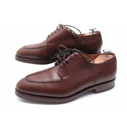 CHAUSSURES JOHN LOBB CHAMBORD DERBY 6.5E 40.5 EN CUIR MARRON BROWN SHOES 1390€