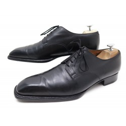 CHAUSSURES JM WESTON BEAUBOURG DERBY 10.5D 4405 EN CUIR NOIR BLACK SHOES 770€
